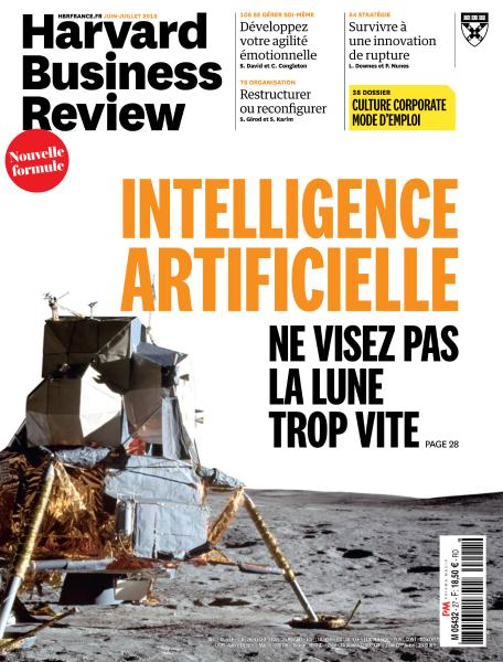 Harvard Business Review France - Juin-Juillet 2018 sur Bookys