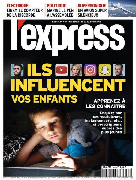 L'Express - 23 Mai 2018 sur Bookys