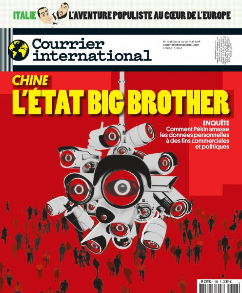 Courrier International - 24 Mai 2018 sur Bookys