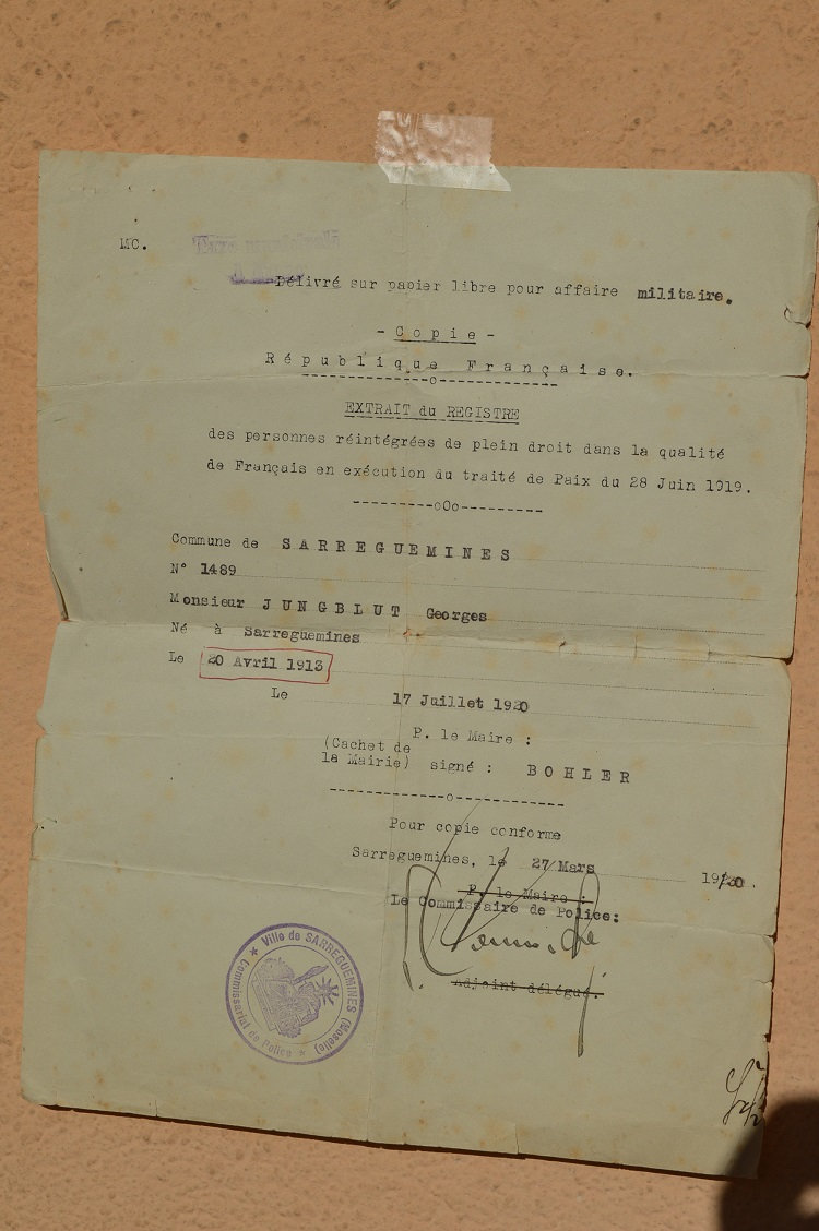 Documents alsaciens après 1918 ? 3w76