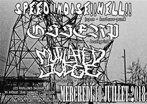 Speed!!noise!!hell!!, Osserp, Mutilated Judge