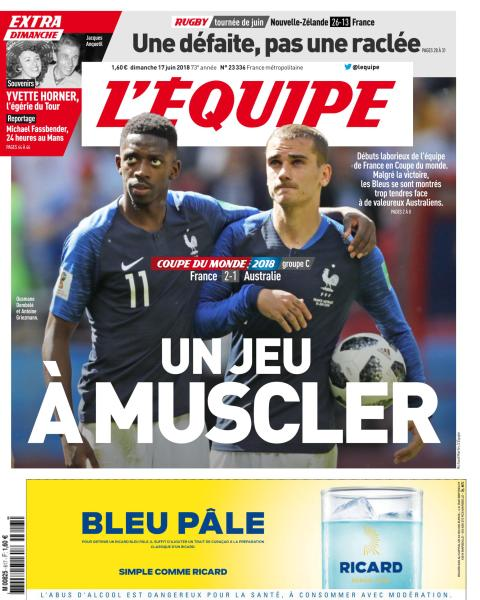 le journal lequipe bookys