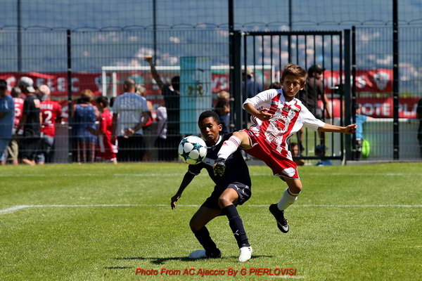 Cfa Girondins : Les U11 13èmes du tournoi international d'Ajaccio - Formation Girondins