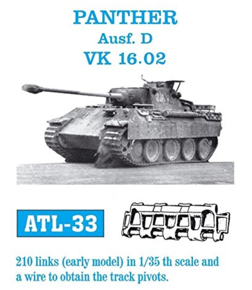 Panther D - Kit Dragon - 1/35 Xan8