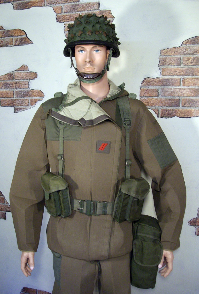 NBC training suit display Esdg