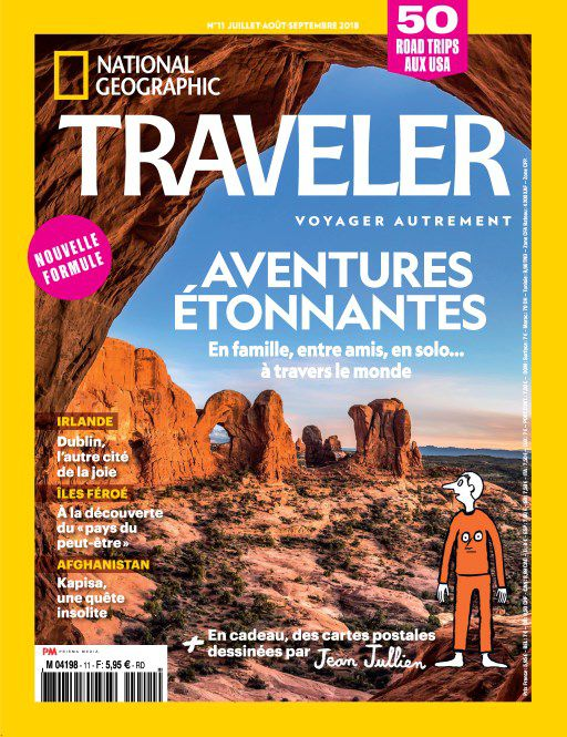 National Geographic Traveler - Juillet-Septembre 2018 sur Bookys