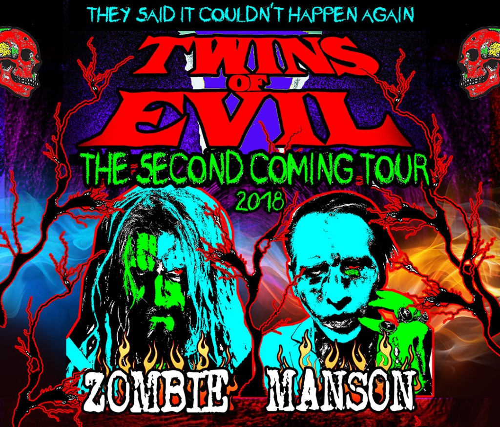 Rob Zombie / Marilyn Manson : Twins Of Evil Second Coming