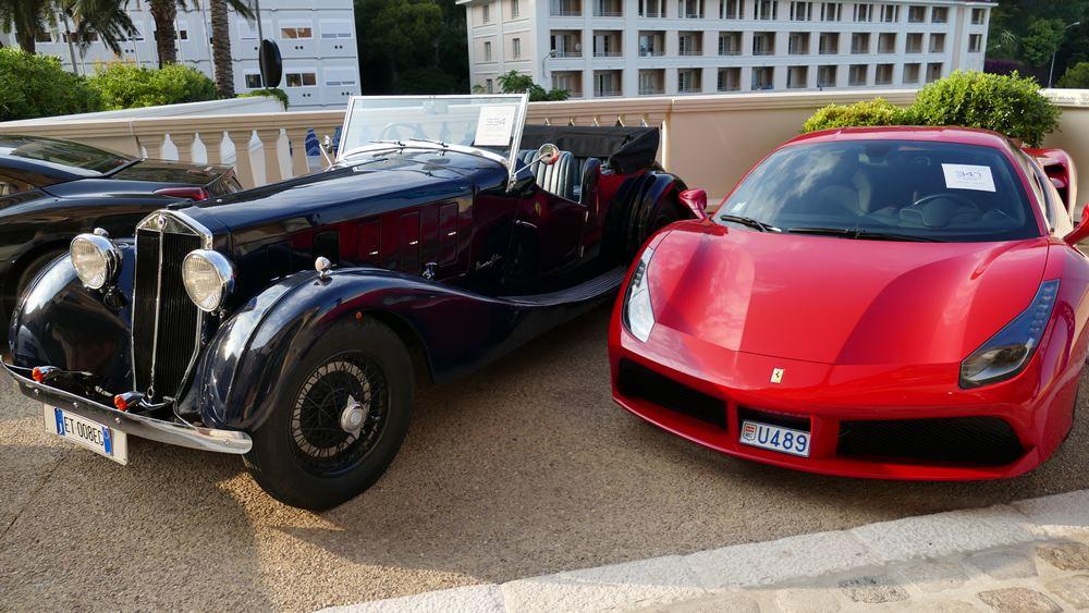-Quelques trés belles autos à MONACO . Bge7