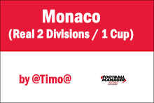 [FM17] Monaco Real (2 Divisions + 1 Cup)  Real Team 2016-2017