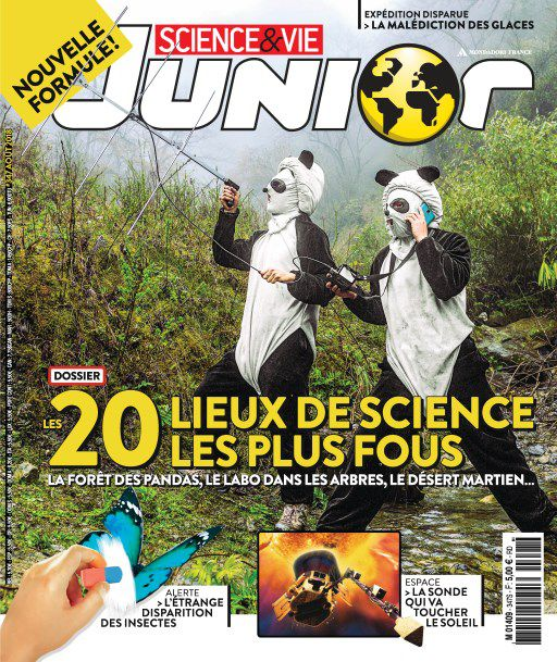 Science & Vie Junior - Août 2018 sur Bookys