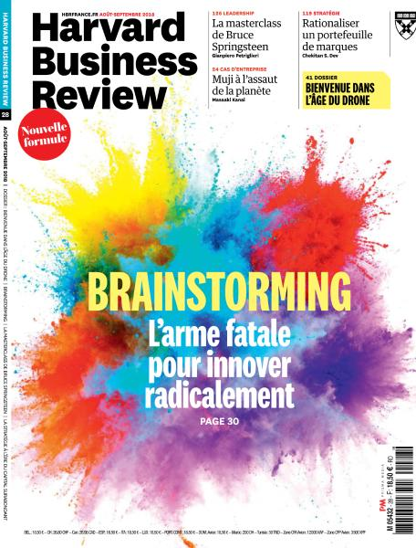 Harvard Business Review France - Août-Septembre 2018 sur Bookys