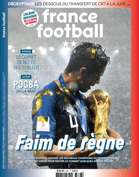 France Football - 17 Juillet 2018 sur Bookys