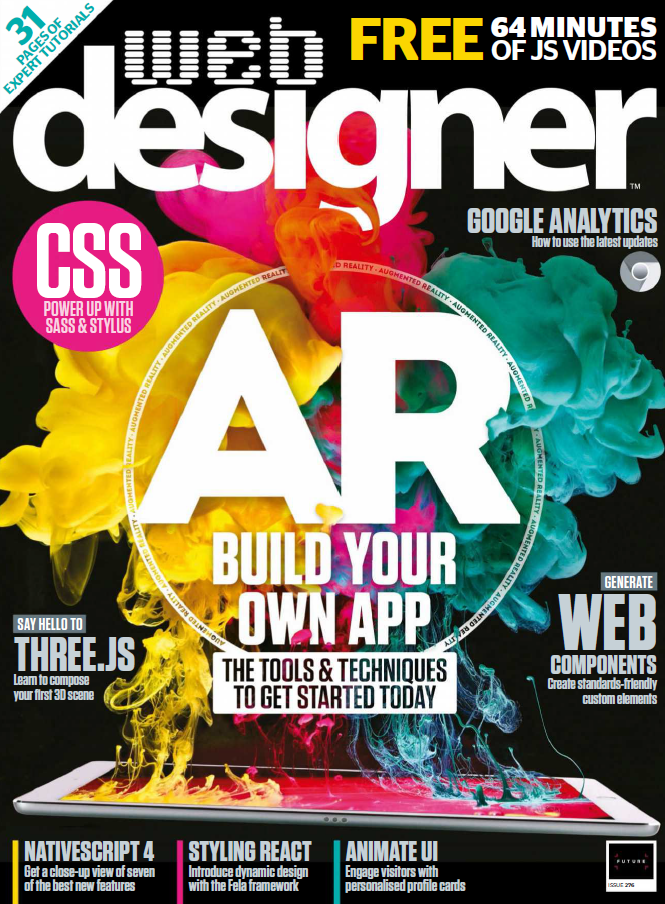 Web Designer UK - October 2018 Issue 276 sur Bookys