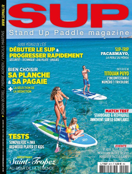 SUP Magazine France - Août-Septembre 2018 sur Bookys