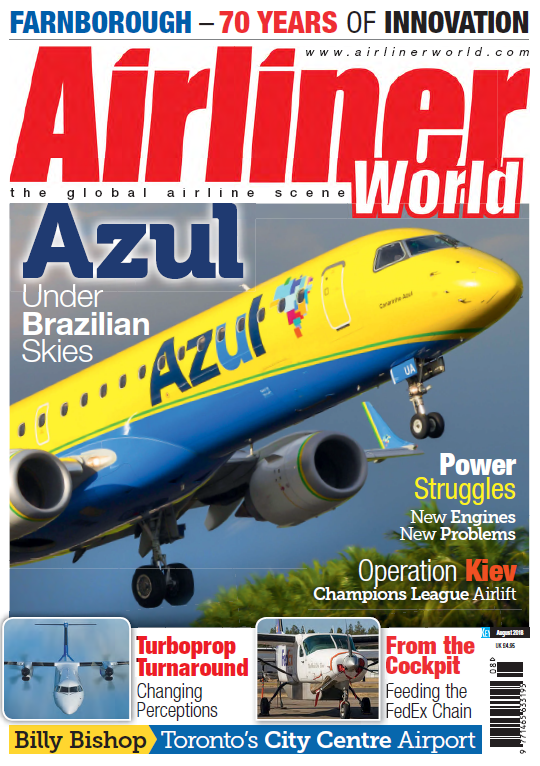 Airliner World - August 2018 sur Bookys