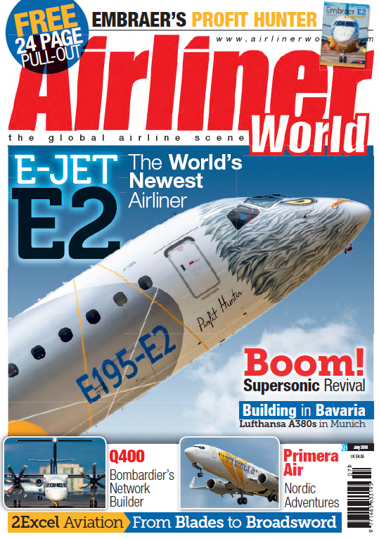 Airliner World - July 2018 sur Bookys