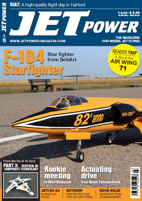 Jetpower - June 2018 sur Bookys