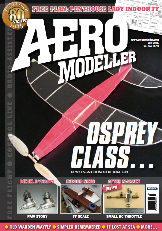 AeroModeller - July 2018 sur Bookys
