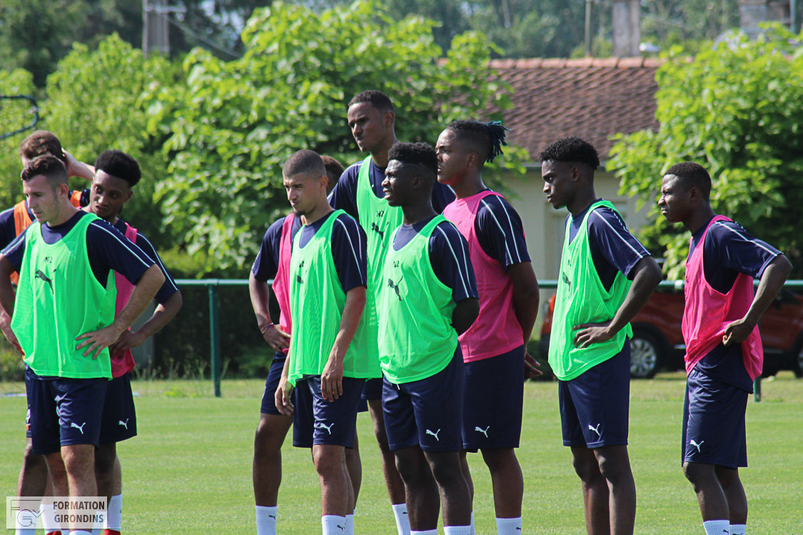 Cfa Girondins : Premier match amical contre Pau - Formation Girondins