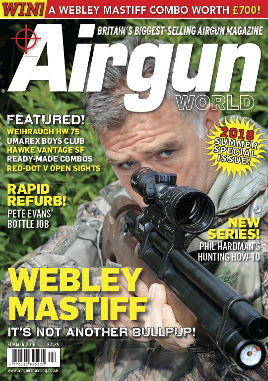 Airgun World - Summer 2018 sur Bookys