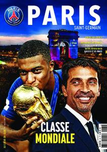 Paris Saint-Germain Le Magazine - Juillet-Août 2018 sur Bookys