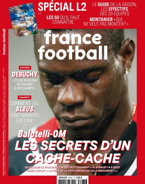 France Football - 31 Juillet 2018 sur Bookys