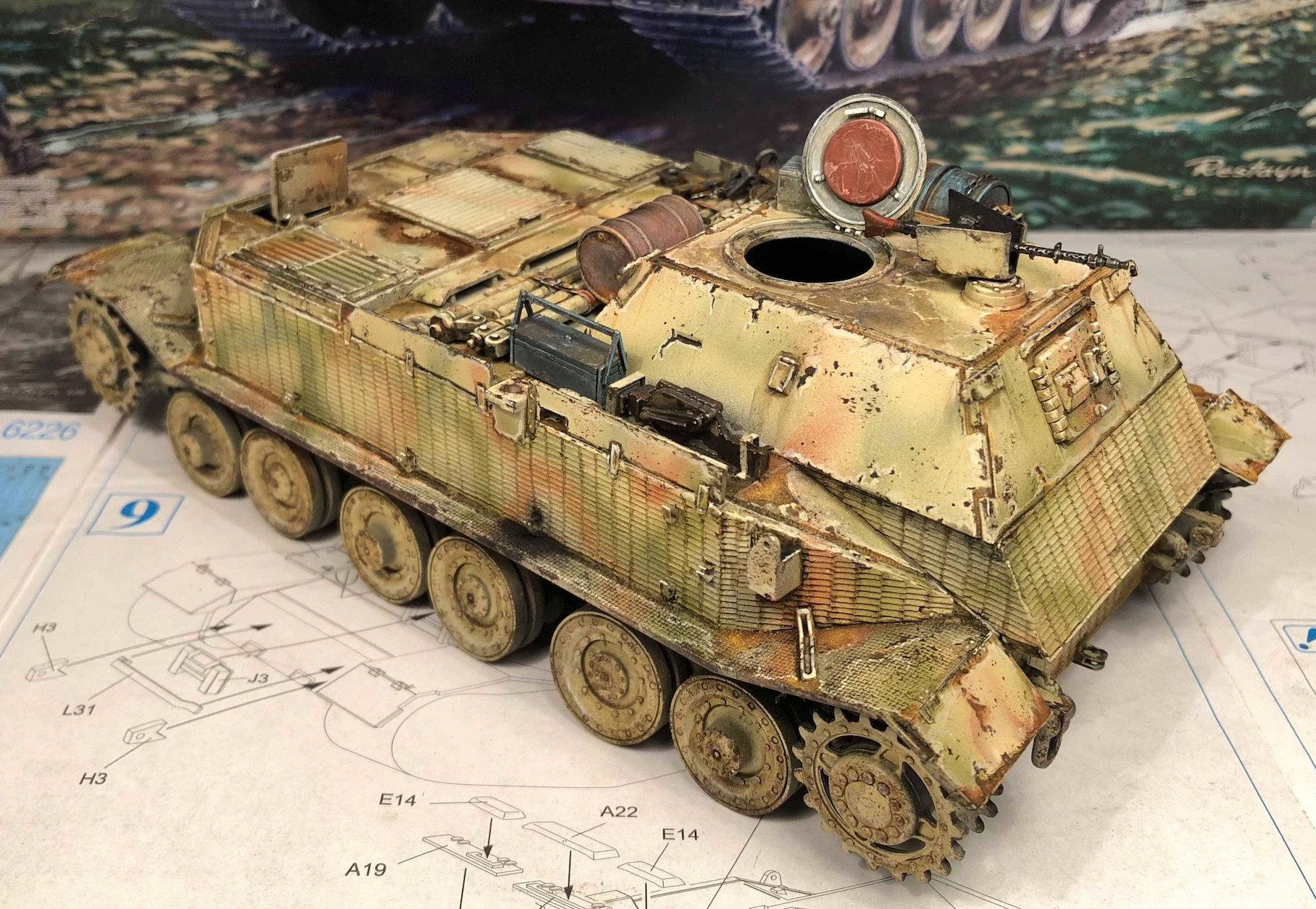 Elefant - Bergenpanzer Tiger (P) - Panzerkampfwagen VI (P) - Kits Dragon - 1/35 - Page 5 Josc