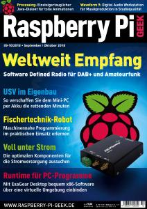 Raspberry Pi Geek - September-Oktober 2018 sur Bookys