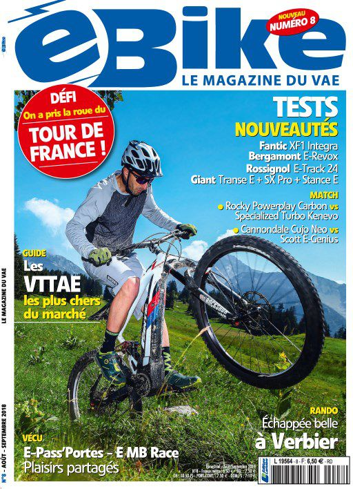 E Bike - Août-Septembre 2018 sur Bookys