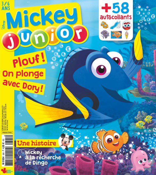 Mickey Junior - Août 2018 sur Bookys