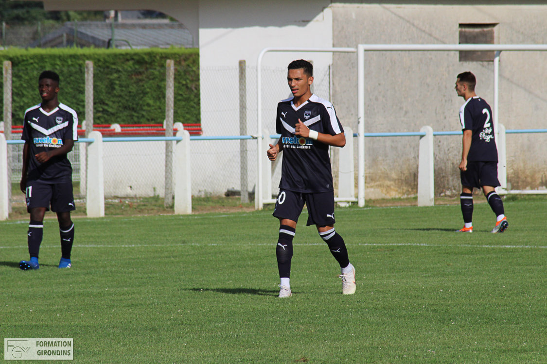Cfa Girondins : Yassine Benrahou signe son premier contrat professionnel ! - Formation Girondins