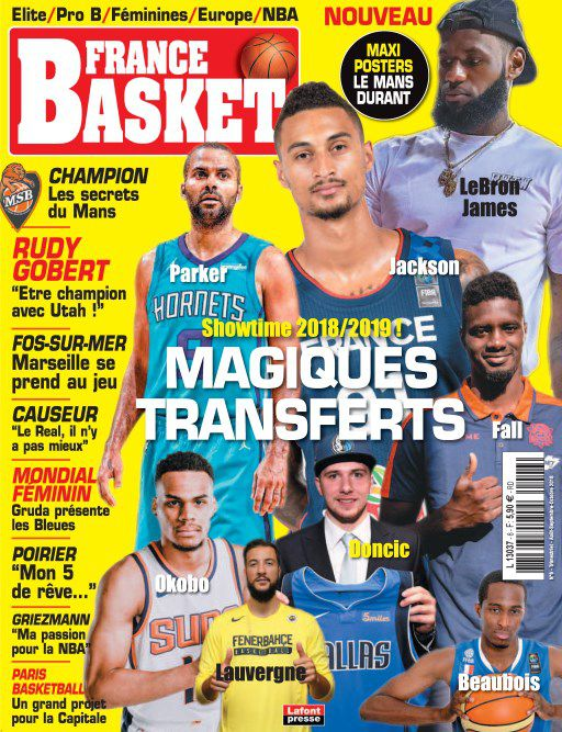 France Basket - Août-Octobre 2018 sur Bookys