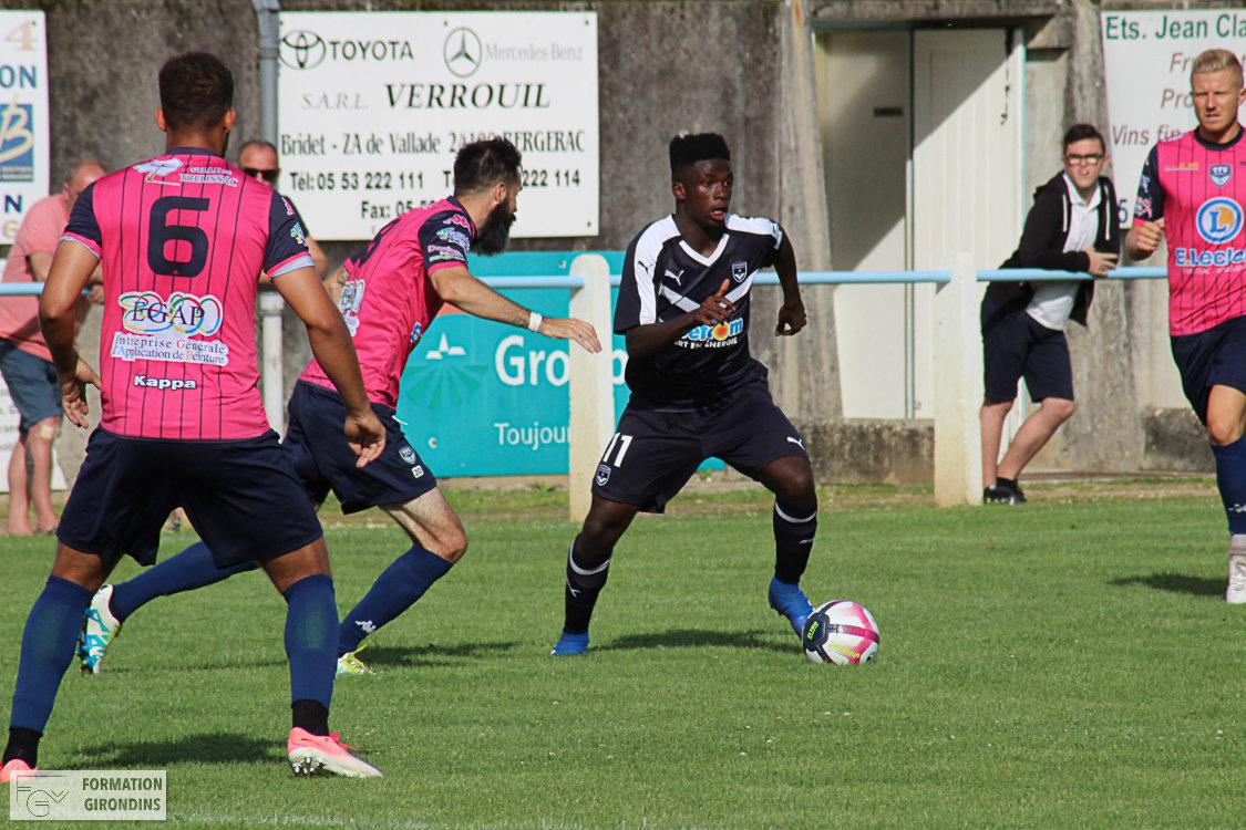 Cfa Girondins : Amadou Traoré et Dilane Bakwa en équipe de France U17 - Formation Girondins