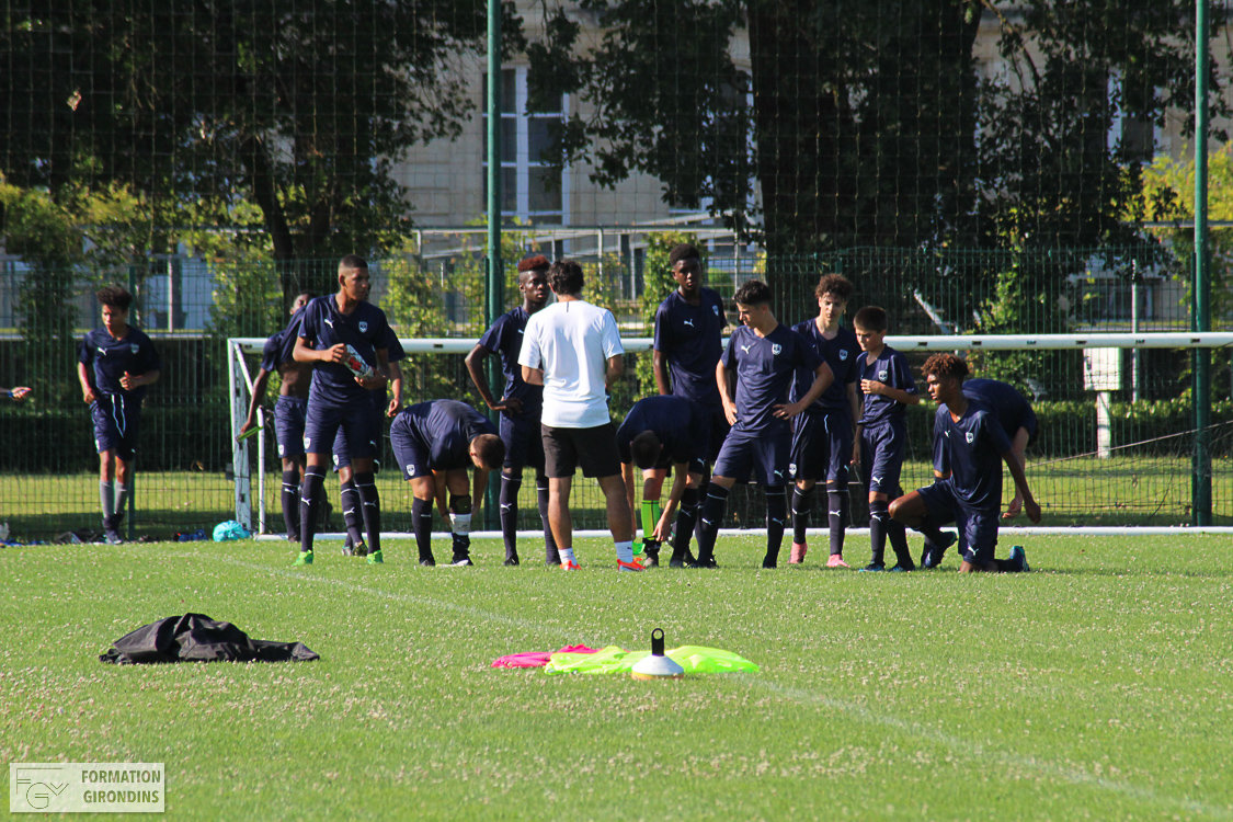 Cfa Girondins : Une victoire pour le dernier match amical - Formation Girondins