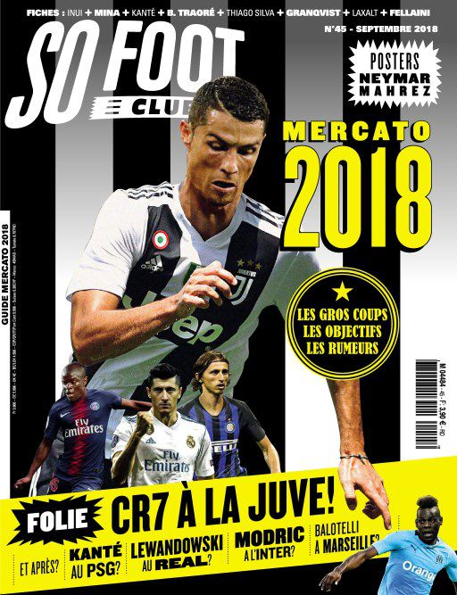 So Foot Club - Septembre 2018 sur Bookys