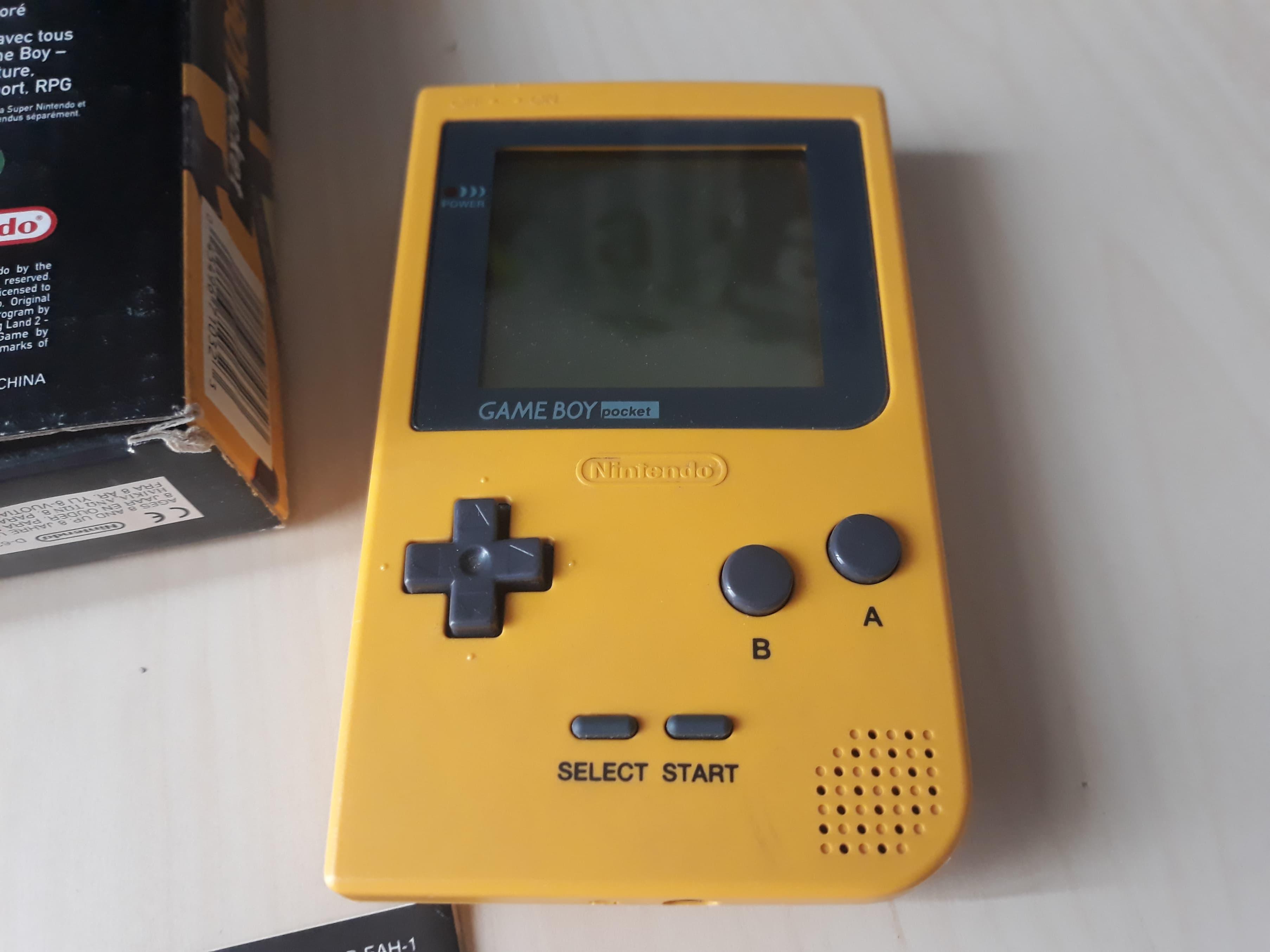 [EST] Gameboy Pocket jaune 1hvz