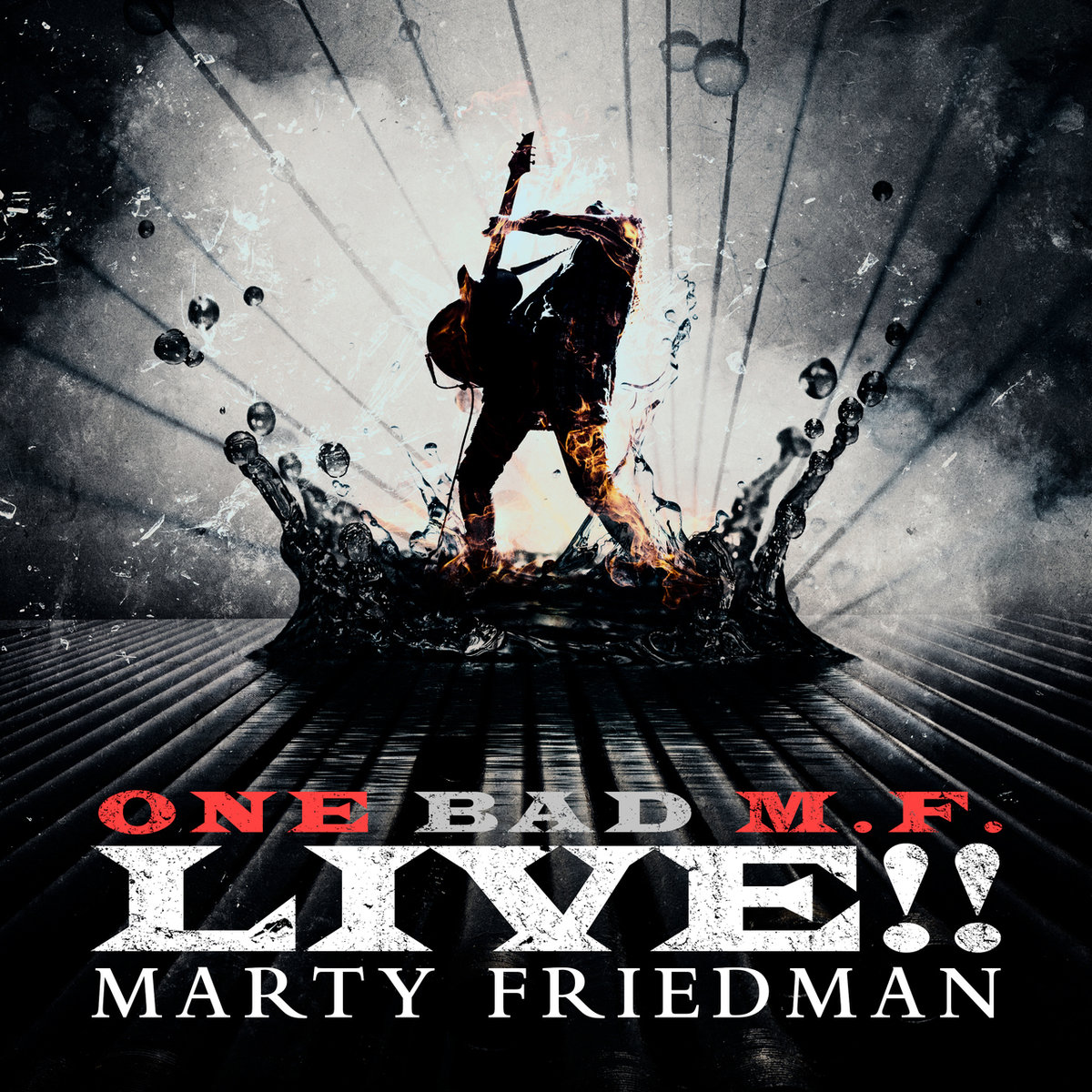 Marty Friedman : One Bad M.F. Live!!