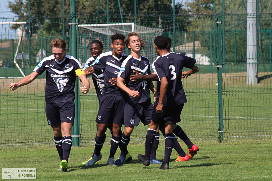 Cfa Girondins : Victoire à Cholet et qualification - Formation Girondins