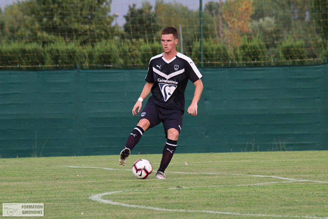 Cfa Girondins : L'Irlande U18 de Tom Gaston s'incline contre l'Angleterre - Formation Girondins