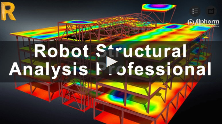 ALPHORM - Robot Structural Analysis Professional (2018) sur Bookys