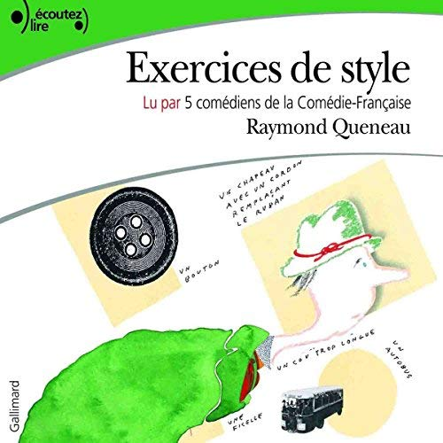 Raymond Queneau - Exercices de style  [mp3 192kbps]
