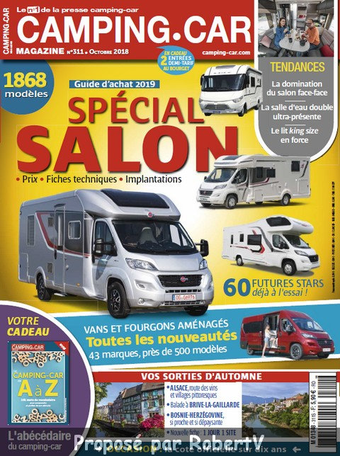 Camping-Car Magazine N°311 - Octobre 2018