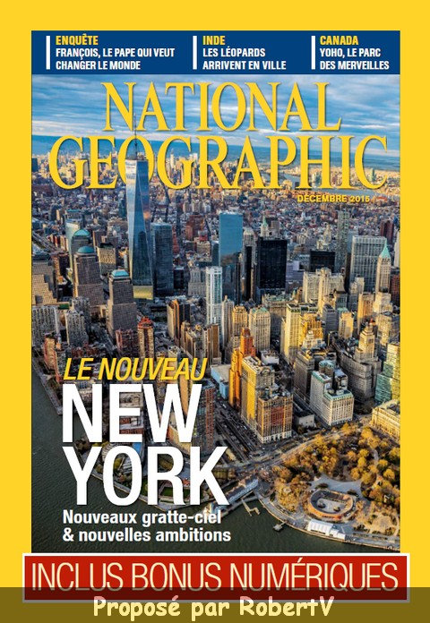 National Geographic N°195 - Le nouveau New York sur Bookys