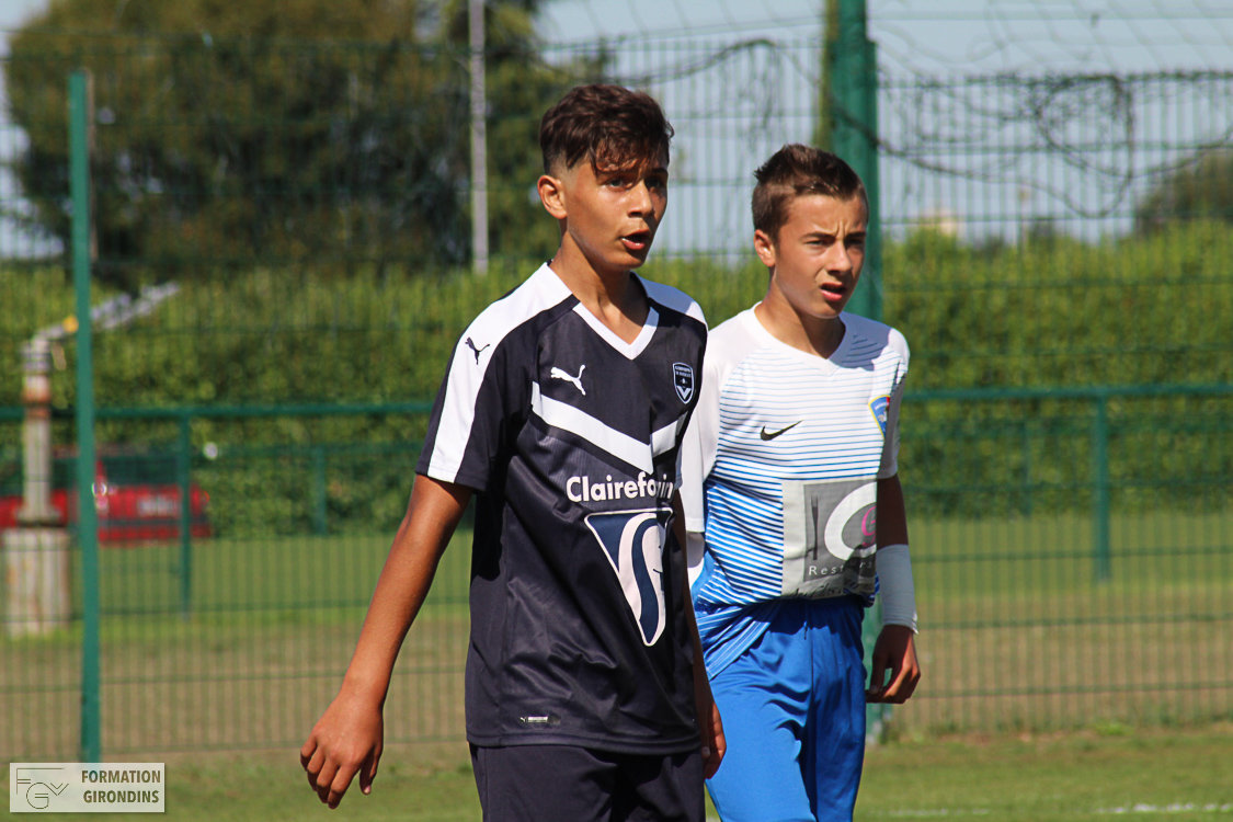 Cfa Girondins : Les U16 et U15 gagnent - Formation Girondins