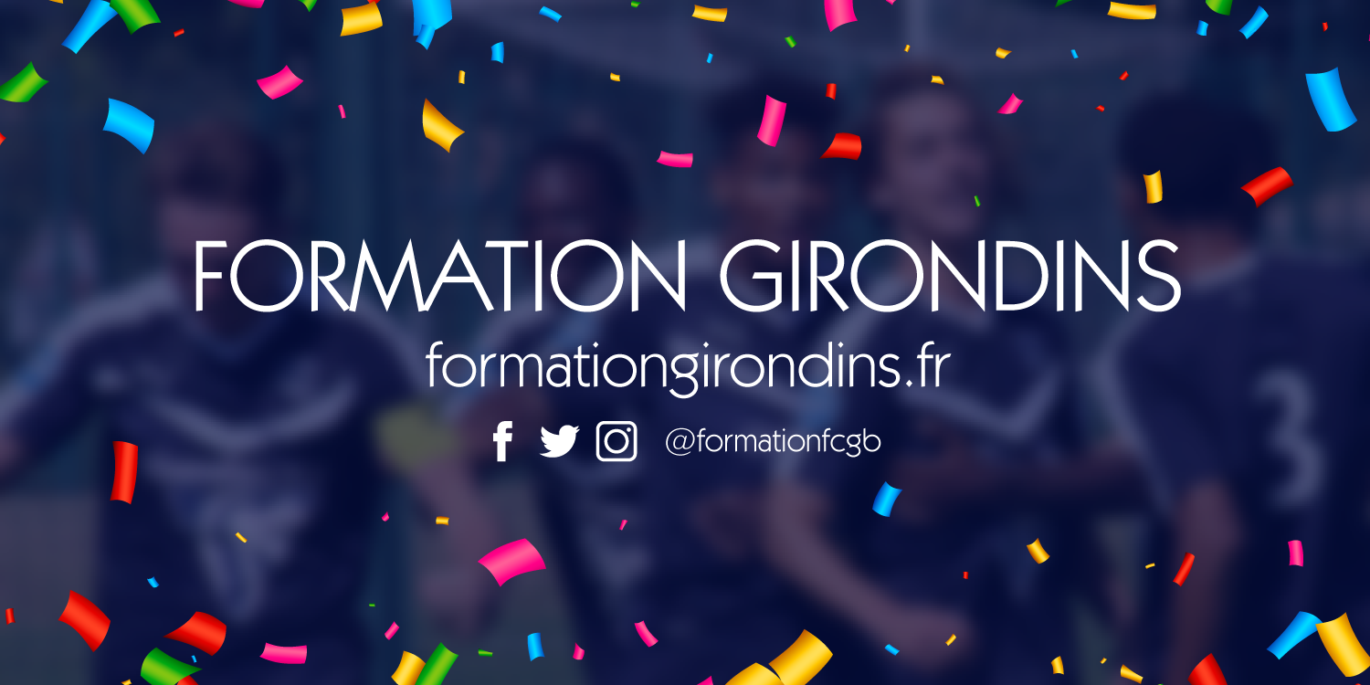 Cfa Girondins : Formation Girondins a 6 ans ! - Formation Girondins
