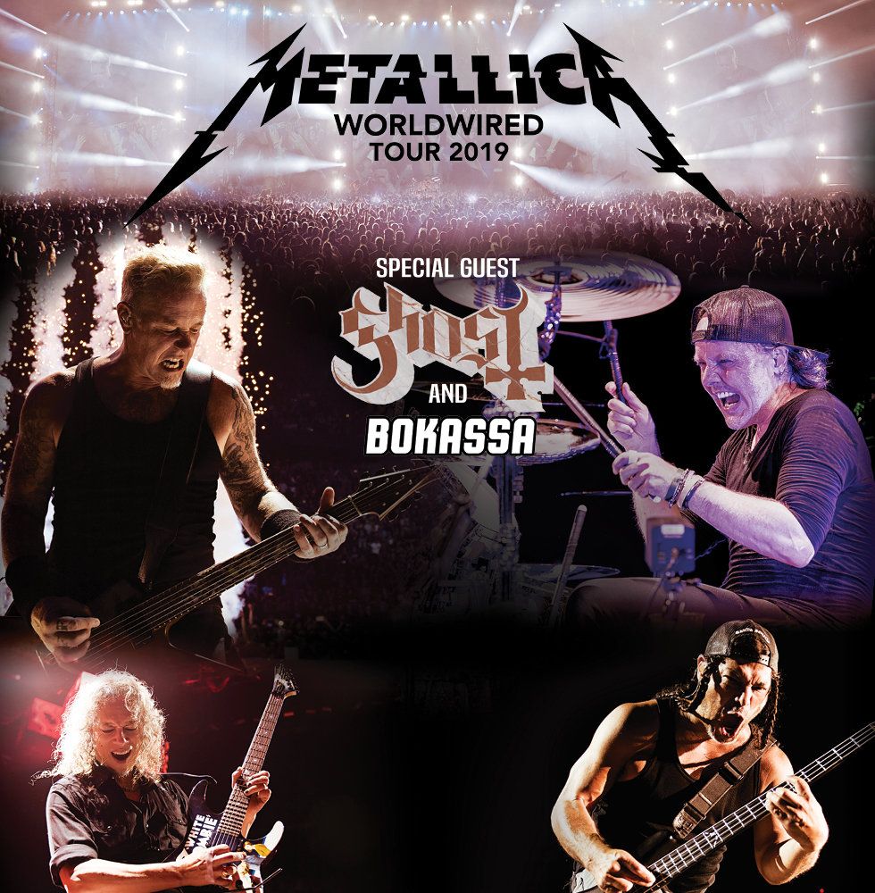 Metallica - Worldwired Tour 2019