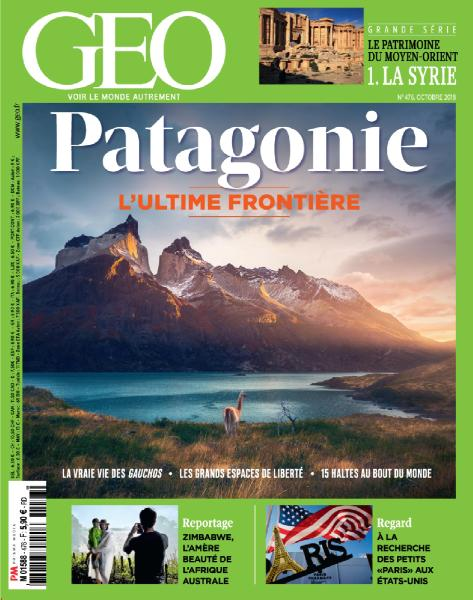 Geo France - Octobre 2018 sur Bookys