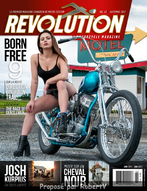 Revolution Motorcycle Magazine N°42 - Automne 2017 sur Bookys