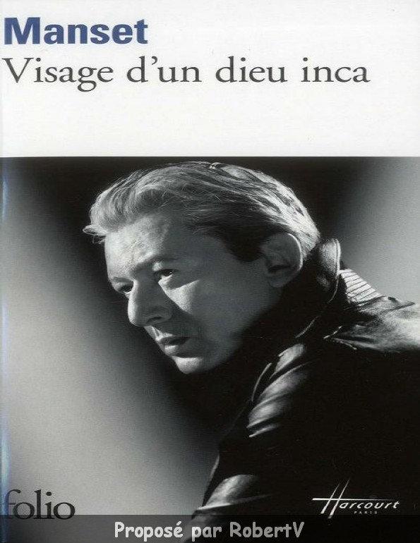 Visage d'un dieu inca (Alain Bashung) - Gérard Manset sur Bookys