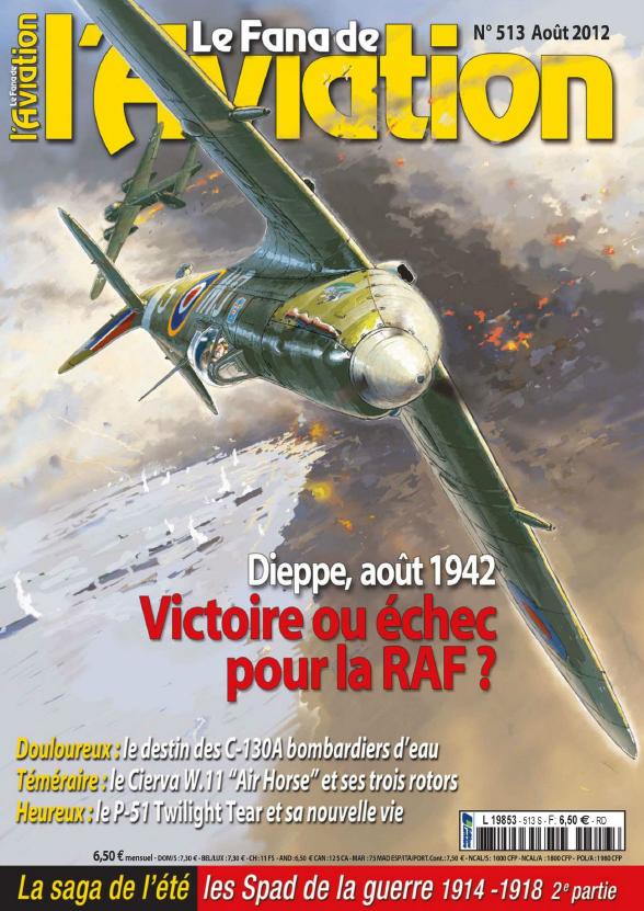 Le Fana de l' Aviation - No. 513 Août 2012 sur Bookys